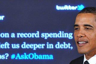 """Obama, en Twitter: """"EEUU podría caer en una nueva recesión o algo peor"""""""
