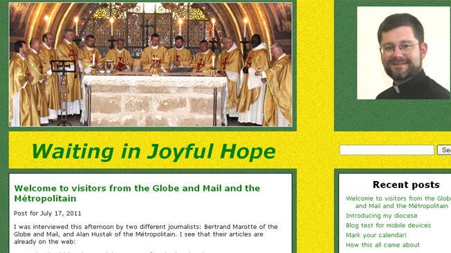De cura bloguero a obispo más joven de Canadá con 40 años