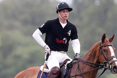 El príncipe Guillermo reconoce que tiene 'mal perder' en el polo