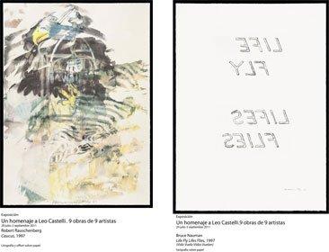 Homenaje a Leo Castelli en la Fundación Juan March