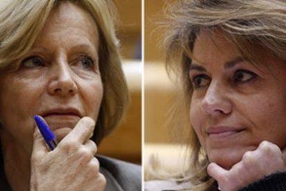Salgado pega la espantada y huye de Cospedal sin interesarse por el problema económico de Castilla-La Mancha