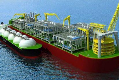 Shell monta un barco 11 veces más grande que el Titanic
