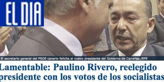 """El Día sigue con su ataque a Rivero y tilda de """"lamentable"""" su reelección"""