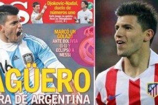El diario AS decide que Agüero ya es el Real Madrid