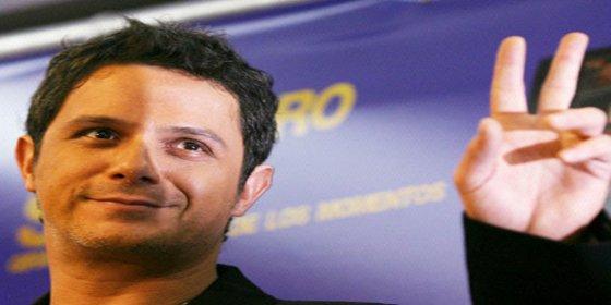 Alejandro Sanz y Raquel Perera dan la bienvenida a Dylan