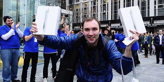 Apple arrasa las previsiones gracias al iPhone y al iPad