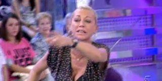 """Belén Esteban vuelve a faltarle al respeto a la audiencia y abandona 'Sálvame' tras insultar a una nueva colaboradora: """"¡Fea!"""""""