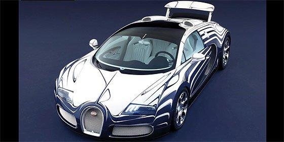 Bugatti lanza un deportivo de porcelana para 'maniacos'
