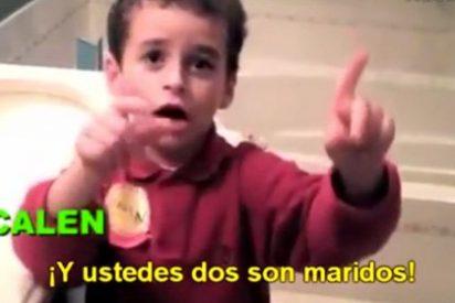 Video: Las (inocentes) preguntas de un niño de 4 años a una pareja gay