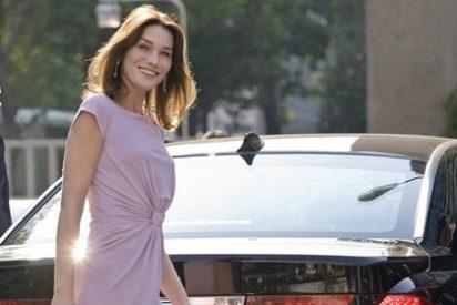 Carla Bruni habla en la prensa de su inesperado embarazo