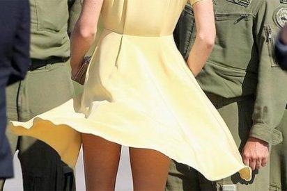 La Princesa Catalina, 'a lo Marilyn Monroe' en 'La tentación vive arriba'