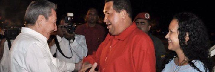 Hugo Chávez llegó a Cuba para continuar el tratamiento contra el cáncer