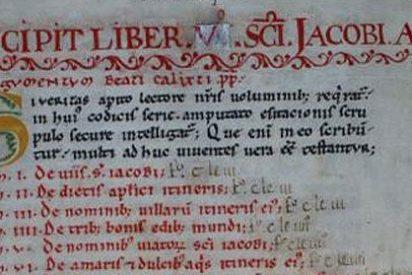 Roban de la catedral de Santiago de Compostela el Códice Calixtino