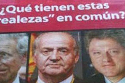 El Rey Juan Carlos usado como reclamo por una agencia de infidelidades
