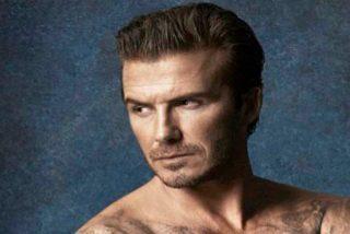 El futbolista David Beckham usa un collar para mejorar en el sexo