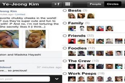 Google+ ya tiene aplicación oficial para iPhone