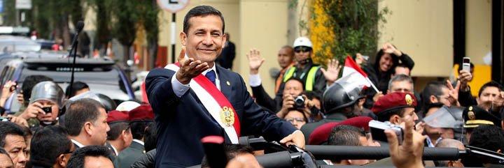 """Gobierno marcará """"inicio de nueva época"""" para Perú, asegura presidente Humala"""