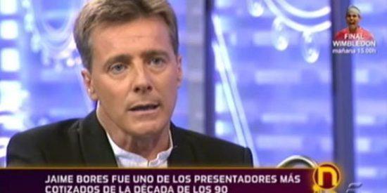 """El presentador Jaime Bores cuenta su ruina profesional en 'La Noria': """"No gané mucho dinero y ahora voy dando tumbos"""""""