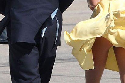 Kate Middleton, como Letizia Ortiz en su día, con el real trasero al aire