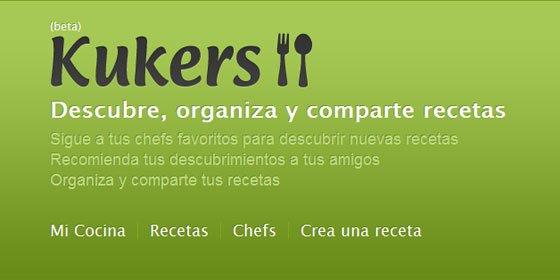 Se llama 'Kukers' y es una nueva red social de recetas de cocina