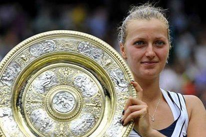 Petra Kvitova vence a Sharapova y es la nueva reina de Wimbledon