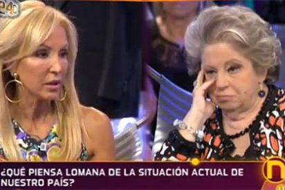 María Antonia Iglesias intenta 'despellejar' a Carmen Lomana y sale trasquilada