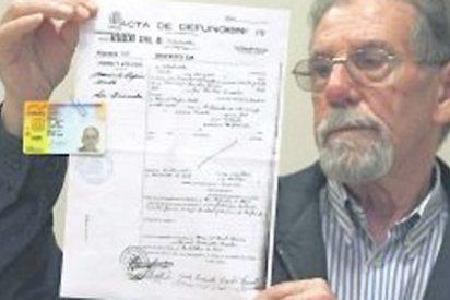 Un tipo muy vivo que lleva 73 años muerto... por orden judicial