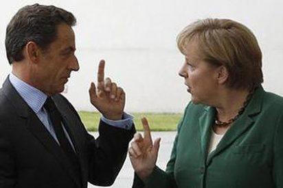 """Merkel y Sarzoky pactan el rescate griego """"in extremis"""""""