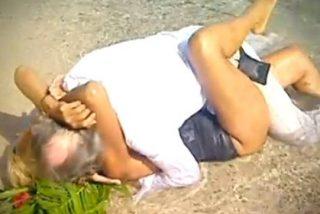 """El 'calentón' de Rosa Benito y su marido en 'Supervivientes': """"No me toques las tetas delante de la gente"""""""