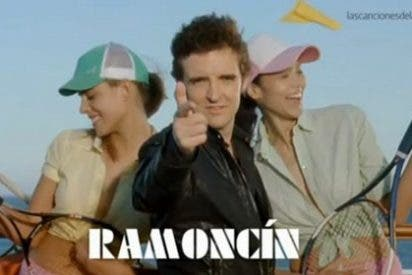 """Ramoncín se autoparodia en un anuncio: """"¿Este disco es original?"""