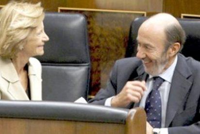 Salgado se cabrea cuando oye hablar del abultado déficit de Castilla-La Mancha
