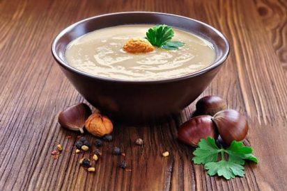 Sopa de castañas: 2 recetas fáciles 👌