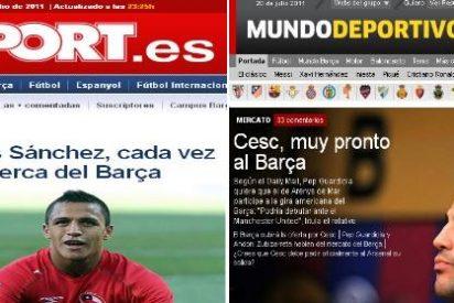 """Alexis y Cesc """"muy cerca"""" del Barça, depende para quién"""