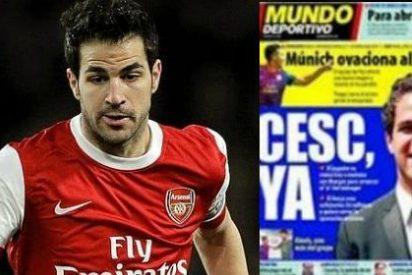 Mundo Deportivo 'se pasa' en su portada con el caso Fábregas