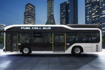 Toyota Sora, el autobús de hidrógeno del futuro