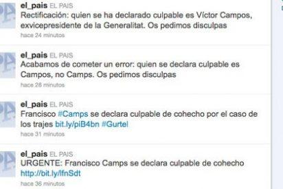 El País se hace un lío y declara como culpable a Camps en lugar de Campos