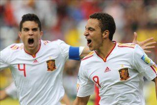 1-4. España resuelve con goleada un complicado debut en el Mundial sub 20 de fútbol