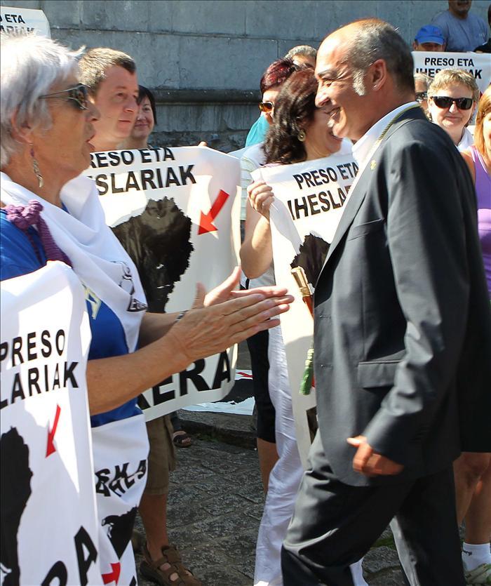 Garitano aprovecha la fiesta de Loyola para defender a los presos de ETA