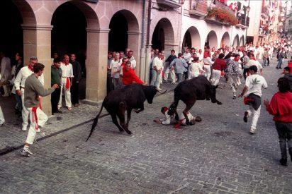 Muere en Lodosa (Navarra) un hombre corneado por un novillo fugado del encierro