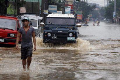 Elevan a 72 las víctimas causadas por un tifón y una tormenta en Filipinas
