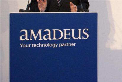 Amadeus ganó el 12,2 por ciento más hasta junio por la mejora de operaciones