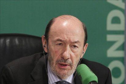 """Rubalcaba se siente """"corresponsable"""" de los aciertos y errores de Zapatero"""