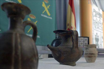 Desarticulado un grupo que expoliaba yacimientos arqueológicos de madrugada