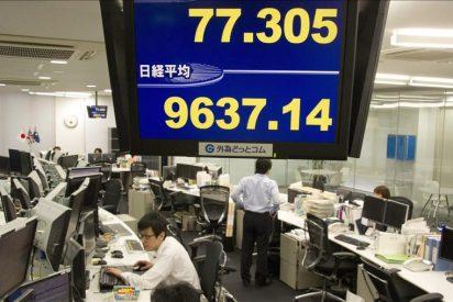 El Nikkei cae más de un 3,5 por ciento tras los primeros intercambios