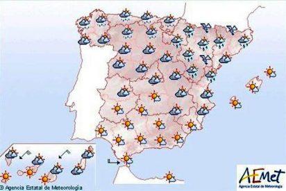 Lluvias en Aragón, Cataluña y Comunidad Valenciana
