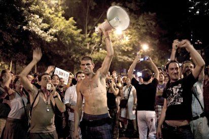 La Puerta del Sol sigue blindada por la Policía ante otra jornada de protestas