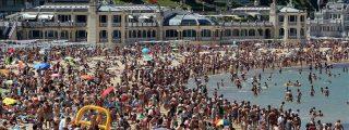 Muere ahogada una menor de 14 años en la playa de la Concha de San Sebastián