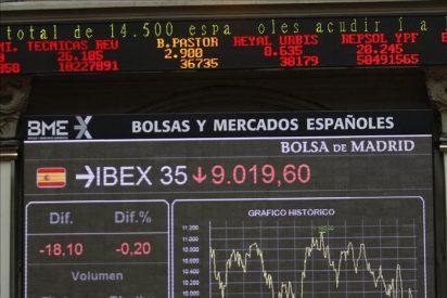 La bolsa española pierde el 2 por ciento en la apertura tras el batacazo de ayer