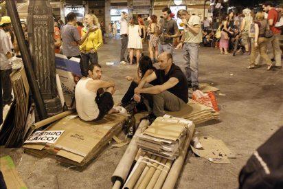 La Puerta del Sol recupera su rutina diaria, tras las últimas protestas