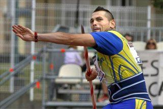 Baraza, primer campeón al revalidar el título de jabalina